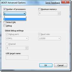 BOOT Advanced Options
