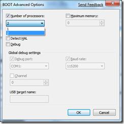 BOOT Advanced Options