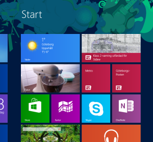 Windows 8 sample picture