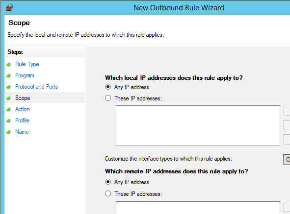 Outbound firewall rules – DeployWindows