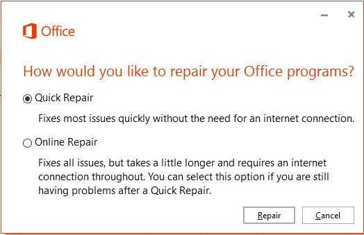 Office365_2016_QuickRepair