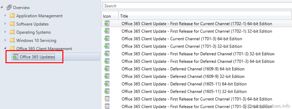 Deploy and Troubleshoot Office 365 ProPlus Updates with ConfigMgr (1