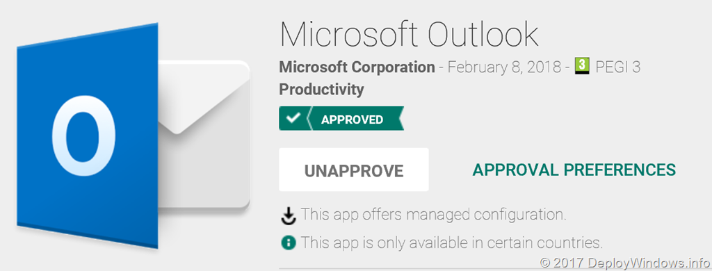 How to configure Outlook app for iOS and Android using on