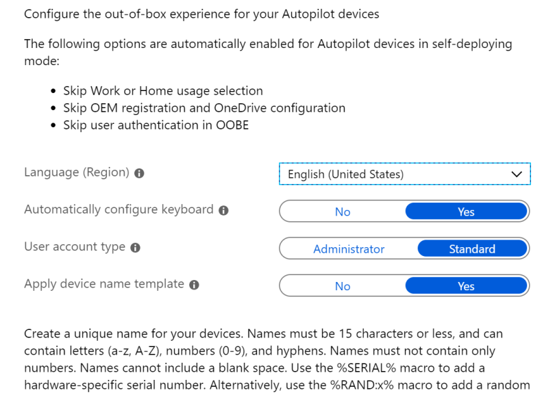 How to deploy self-deploying Kiosks with Intune – DeployWindows